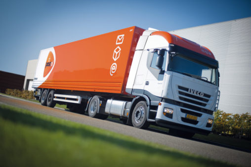 PostNL vrachtwagen